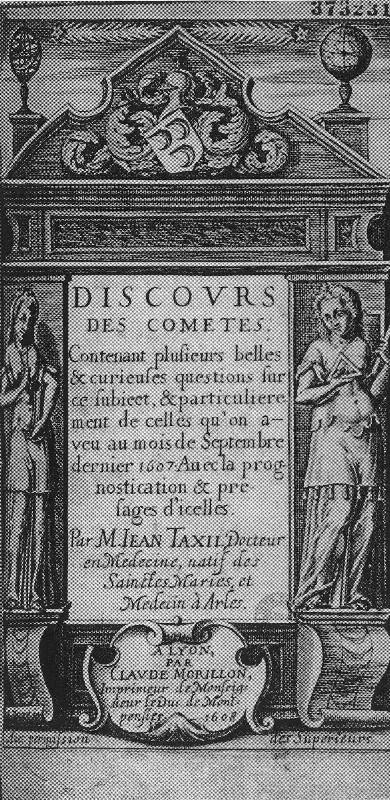 Discours des comètes